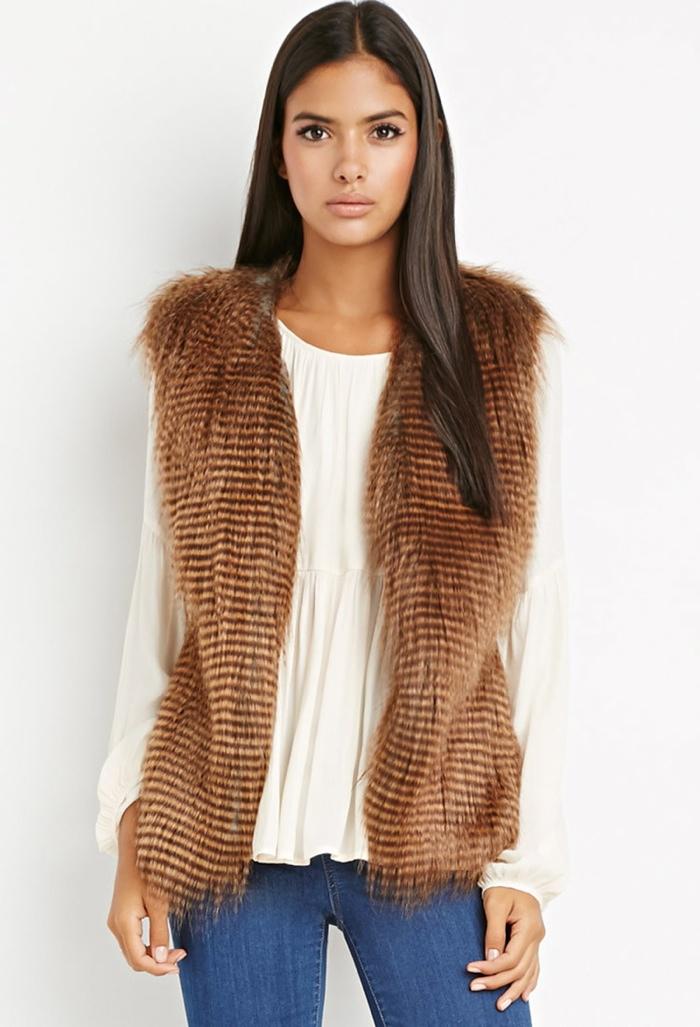 Forever-21-Faux-Fur-Vest