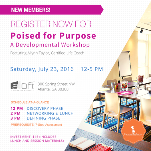 Poised For Purpose Promo SAMPLE July Promo